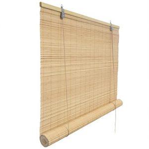 Persiana veneciana de madera en color natural
